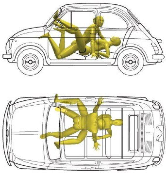 Позы сэкс в машине